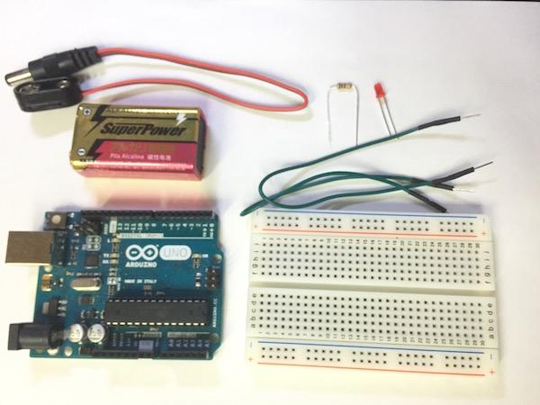 ArduinoでLED点灯を行うために用意するもの