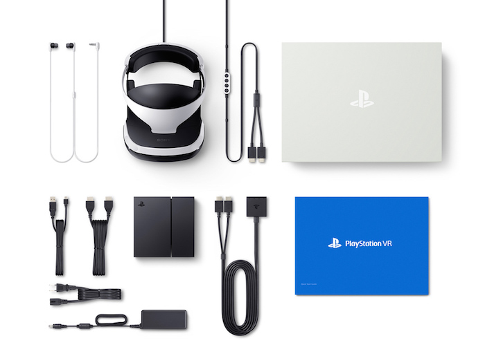 PlayStation VRの付属品