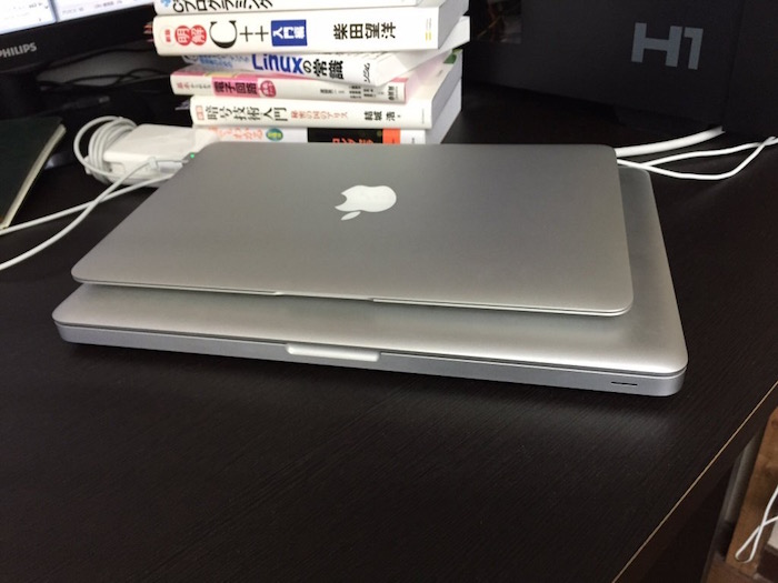 MacBook Pro と MacBook Air