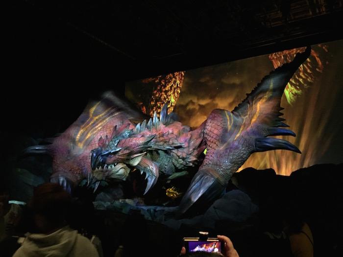 モンハンのドラゴン その1
