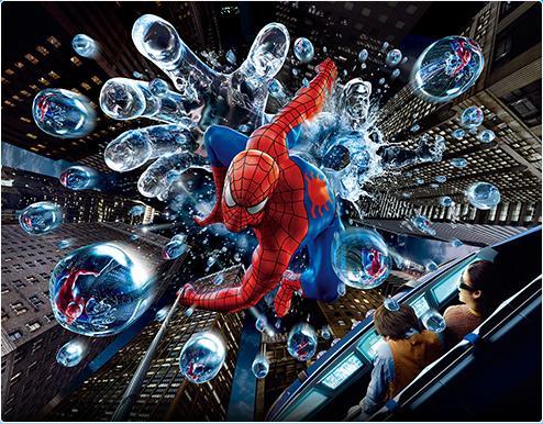 アメージング・アドベンチャー・オブ・スパイダーマン・ザ・ライド 4K3Dの画像