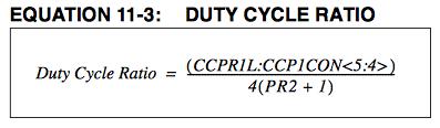 DUTY SYCLE RATIO