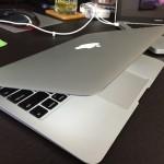 購入したMacBook Air 11インチ