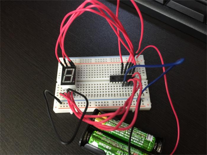 PICマイコン(16F648A)と7セグの接続方法