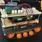 【祝】開発していた戦車型のロボットが完成!
