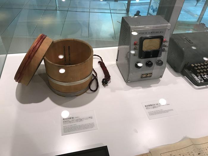 ソニーの炊飯器と真空電圧計