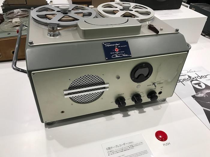 G型テープレコーダー(ソニー)