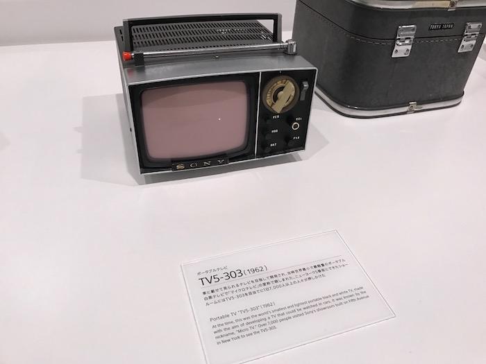 ポータブルテレビ(ソニー)