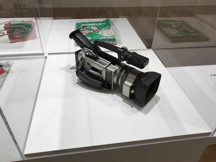 ソニーのビデオカメラ