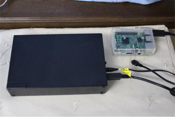 Raspberry PI 3でTime Capsuleを作ってみた
