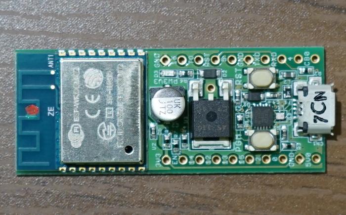 ESP-WROOM-02の開発ボード